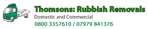 Thomsons Rubbisg Removals