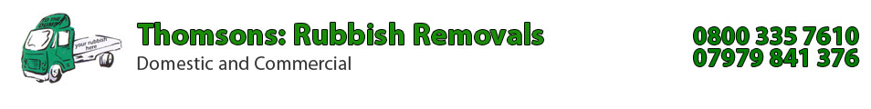 Thomsons Rebbish Removals